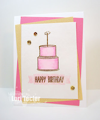 Happy Birthday card-designed by Lori Tecler/Inking Aloud-stamps from Winnie & Walter
