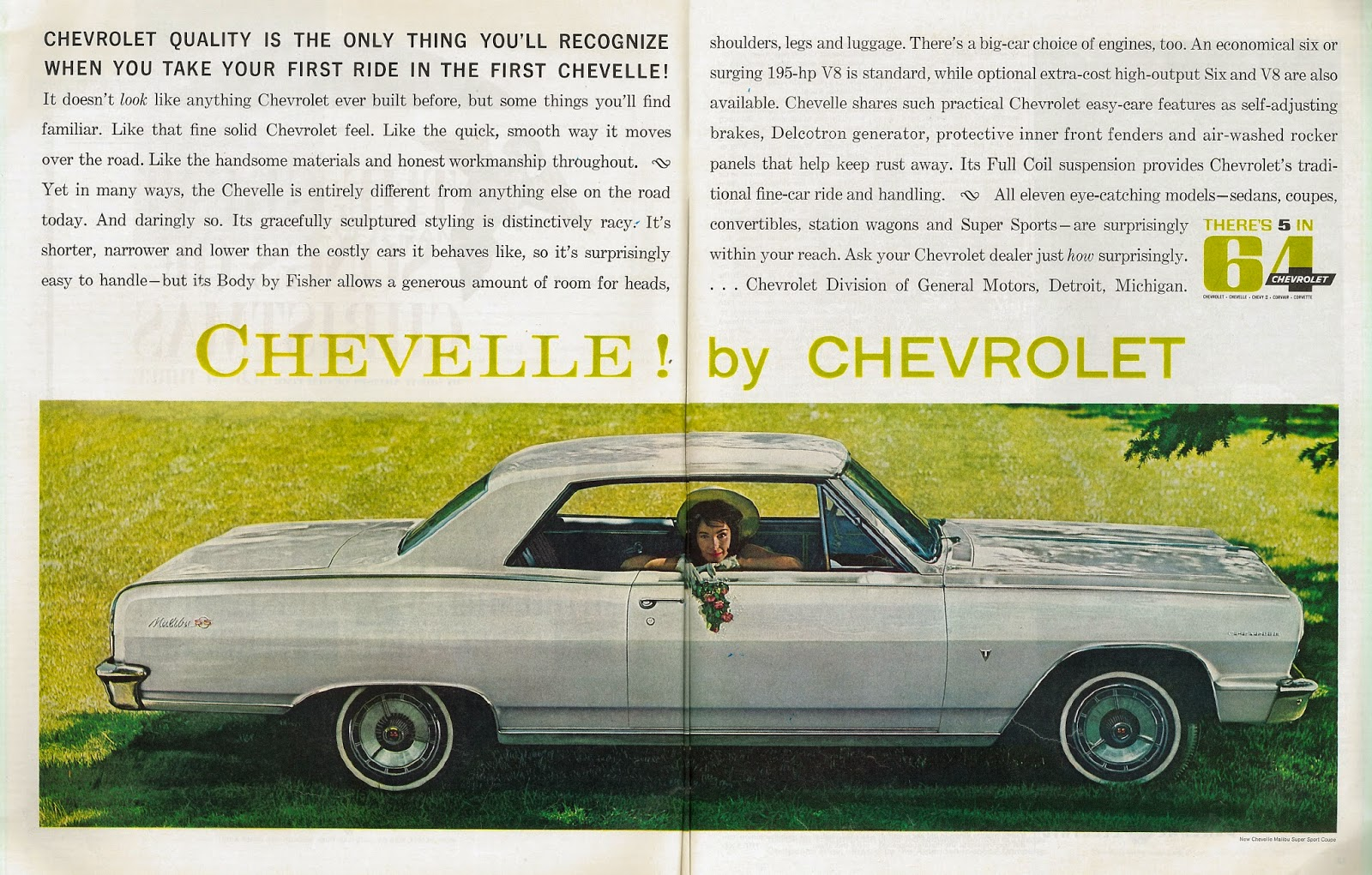 Sep auto ads chevrolet division of general motors for Chevrolet division of general motors