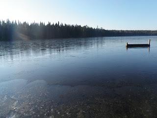 frusen sjö