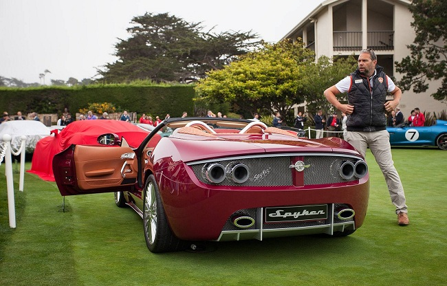Spyker B6 Venator Spyder Concept Unveiled At Pebble Beach Carsfresh