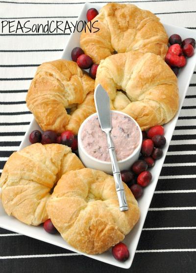 Cranberry Cream Cheese Sandwich