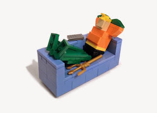 14113855850 cfb1c0037d b Lego Aquaman lounging on a couch