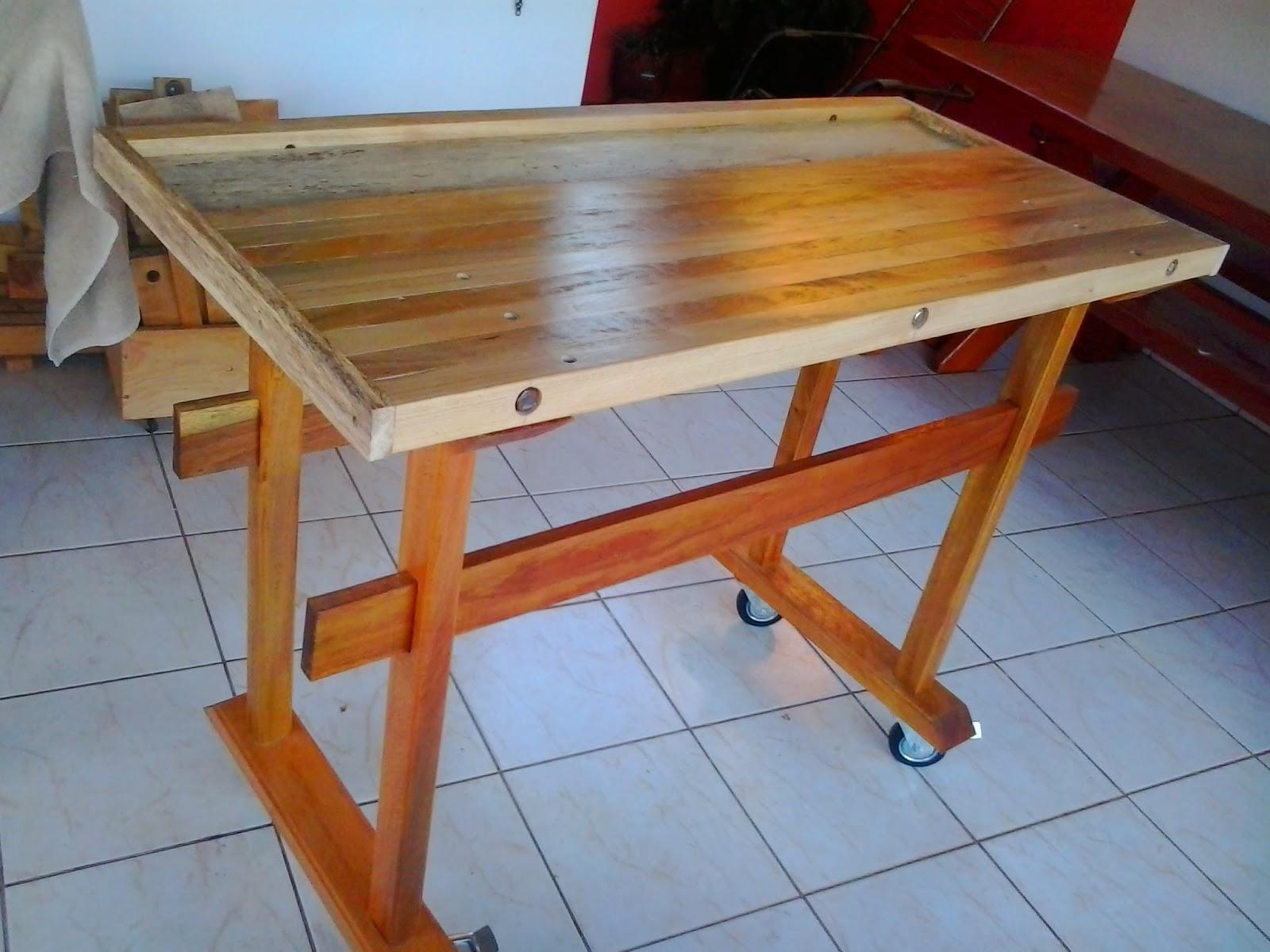 Marcenaria de casa Woodwork home: Bancada de Marceneiro Parte 3  #7E3E20 1600x1200