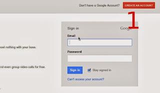 bagaimana cara membuat atau mendaftar akun di google plus