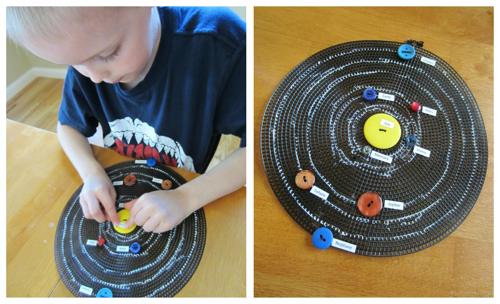 Solar System Projects Planets in Order