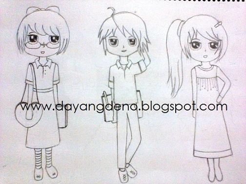 Sketch Using Pencil Again!