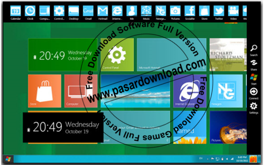 Download Gratis Windows 8.1 Skin Pack 1.0 for Windows 7