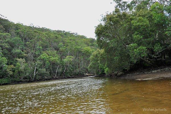 crosslands reserve creek