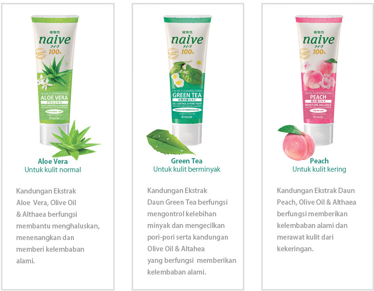 REVIEW : Kracie Naive Facial Cleansing Foam in Green Tea ...