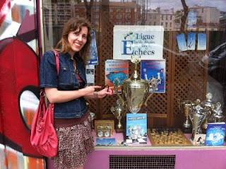 Echecs à Paris : Tatiana Kostiuk a été la 1e féminine dans l'Open A en 2009 © Chess & Strategy