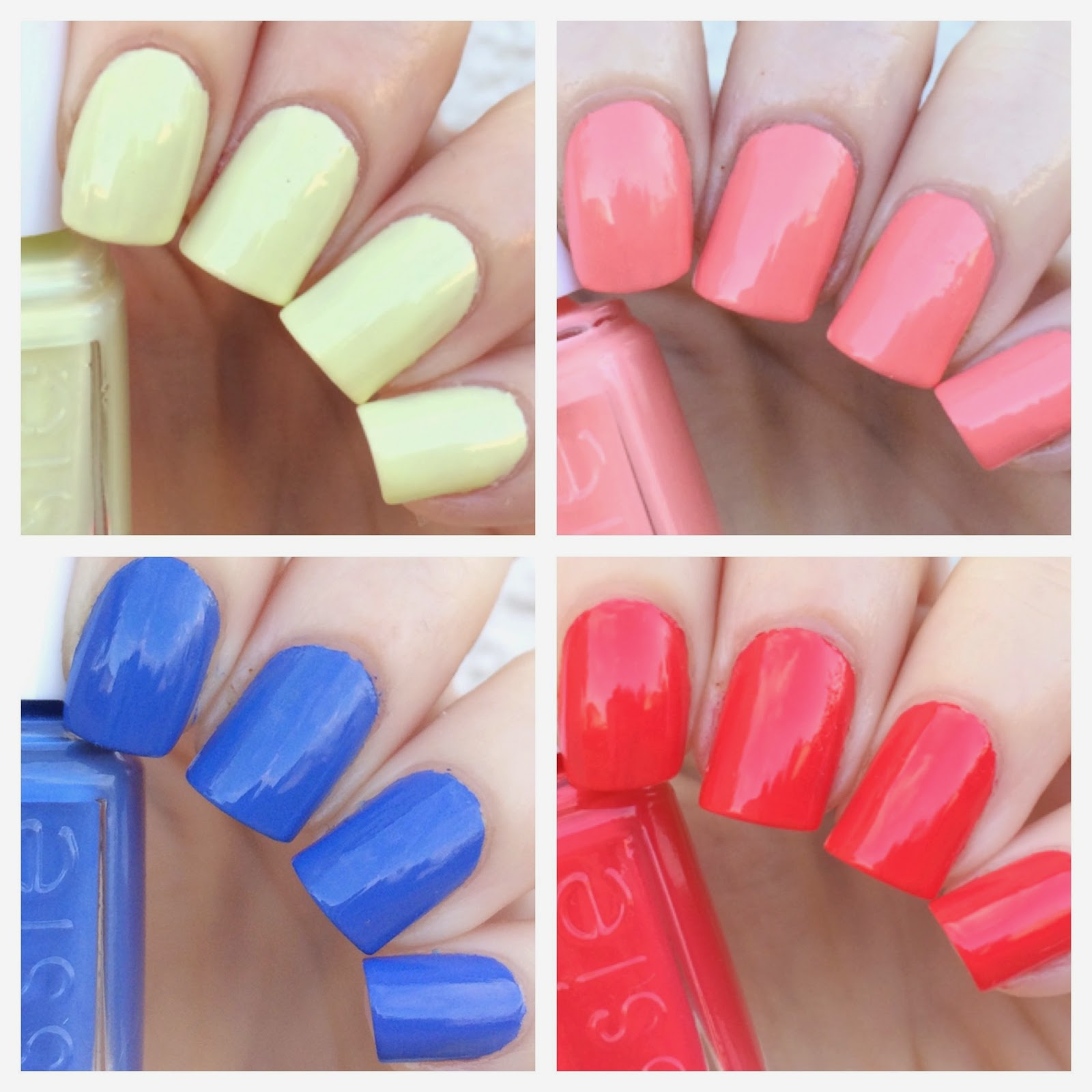 cat eyes & skinny jeans: Essie Summer 2015 Mini Collection Swatches ...