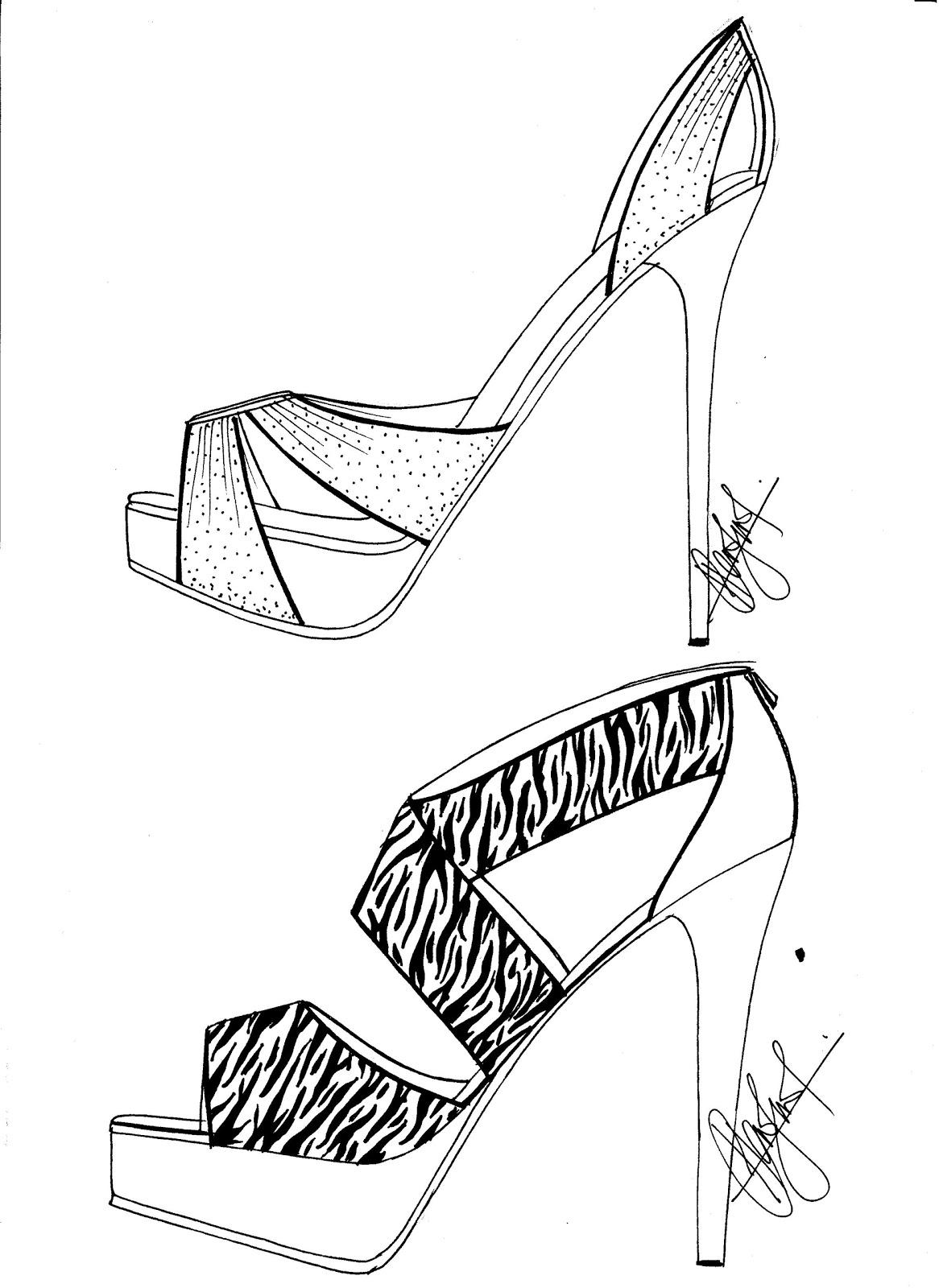 Hafiz's Fashion Sketching.... =): High Heels Sketches