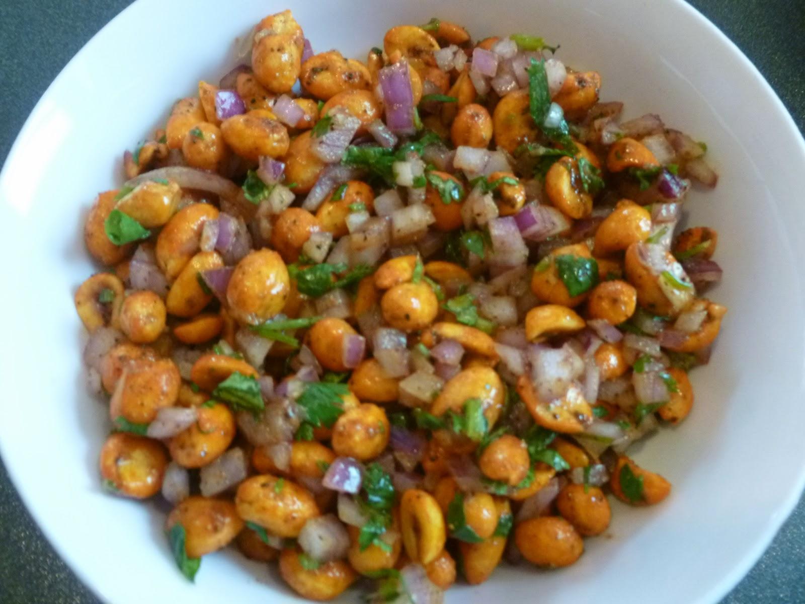 Enjoy Indian Food: Masala Peanut Chaat