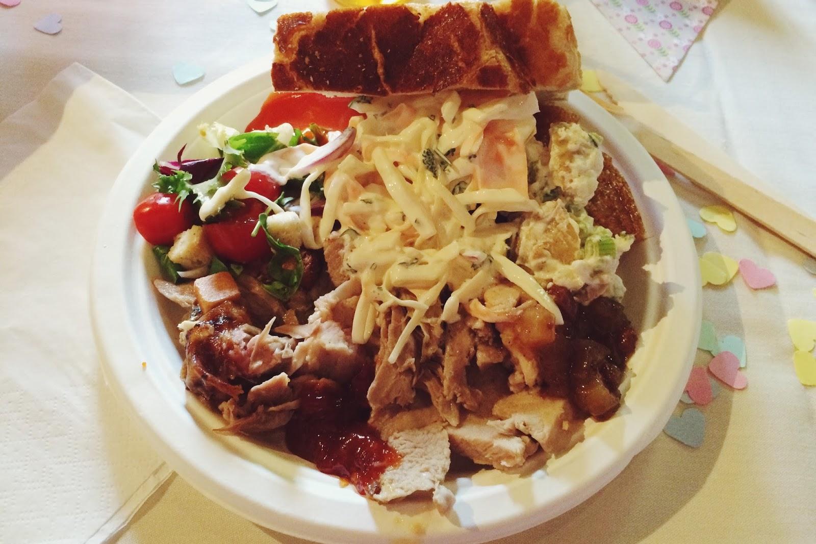 Wedding food hog roast