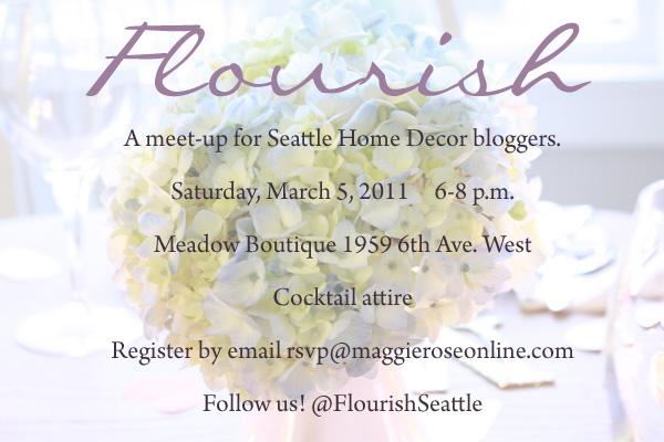Flourish Blogger Meet Up Seattle Washington Michaela Noelle