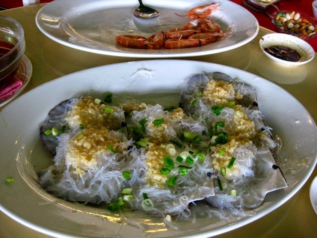 Райский остров Ламма (Гонконг) и Rainbow Seafood Restaurant, морские гребешки