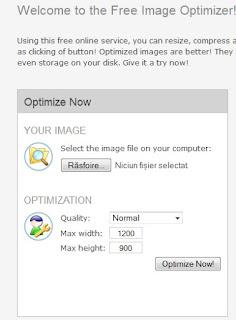optimizare imagini