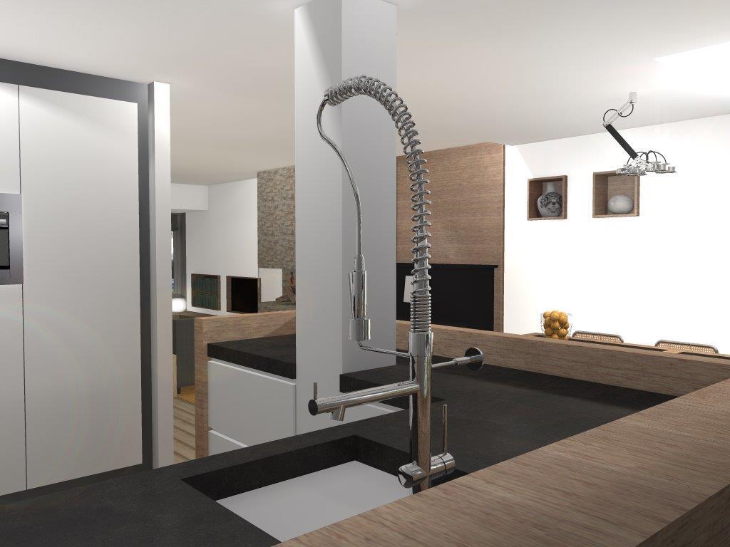 Indeling Keuken Woonkamer : : Opdracht ontwerpen andere indeling keuken en woonkamer