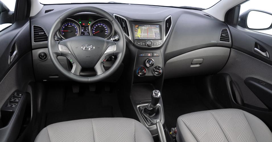 Novo Hyundai Hb20 interior