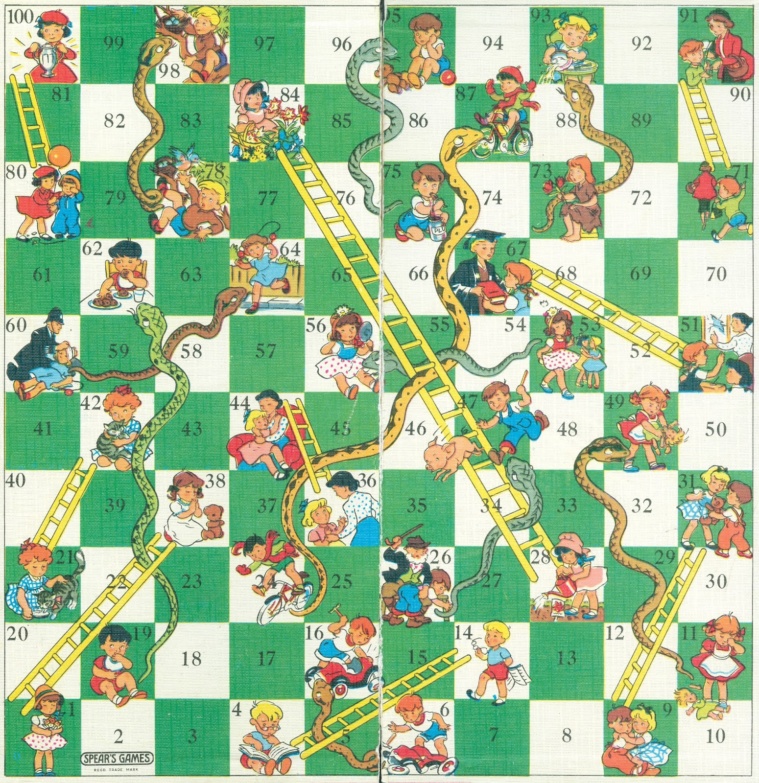 1550 x 1600 jpeg 960kB, Snakes and ladders http://www.pointlessmuseum ...