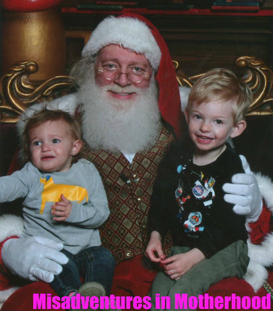 tips for visiting santa with toddlers