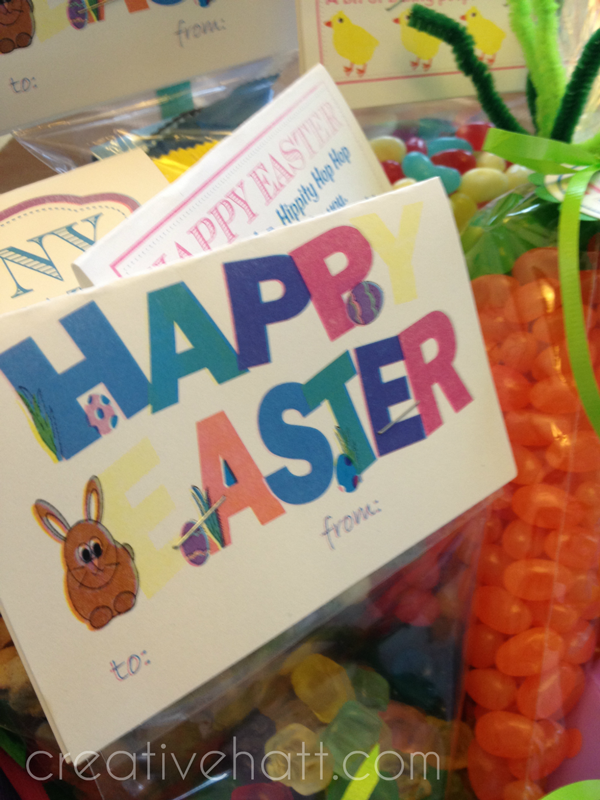 CreativeHatt: Free Easter Printables ~ Gift Tags and Treasurer Hunt ...