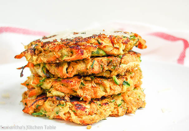 Sweet Potato Zucchini Patties