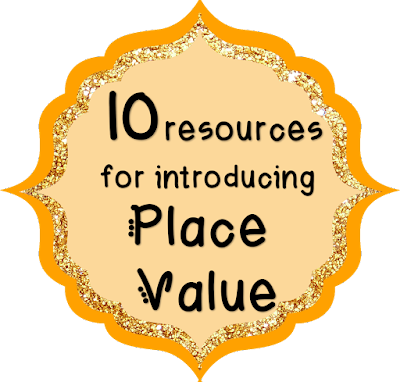 Resources for teaching place value in first grade