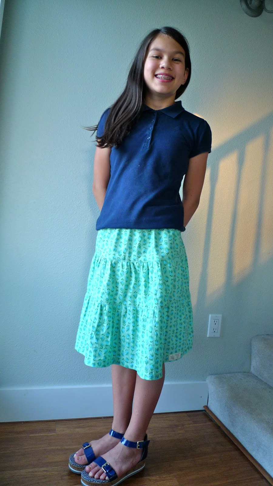 The Joy of Japanese Sewing: easy, breezy summer skirts