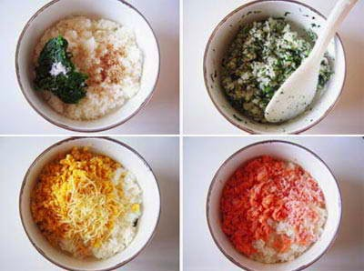 Vietnamese Food Culture - Cơm Ba Màu