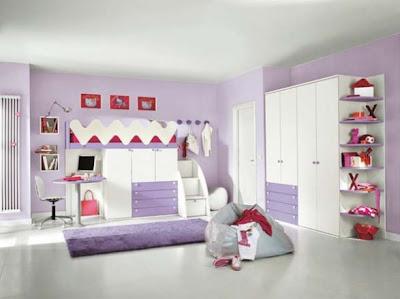 Dormitorios minimalistas para ni os habitaciones for Decoracion de recamaras modernas y minimalistas