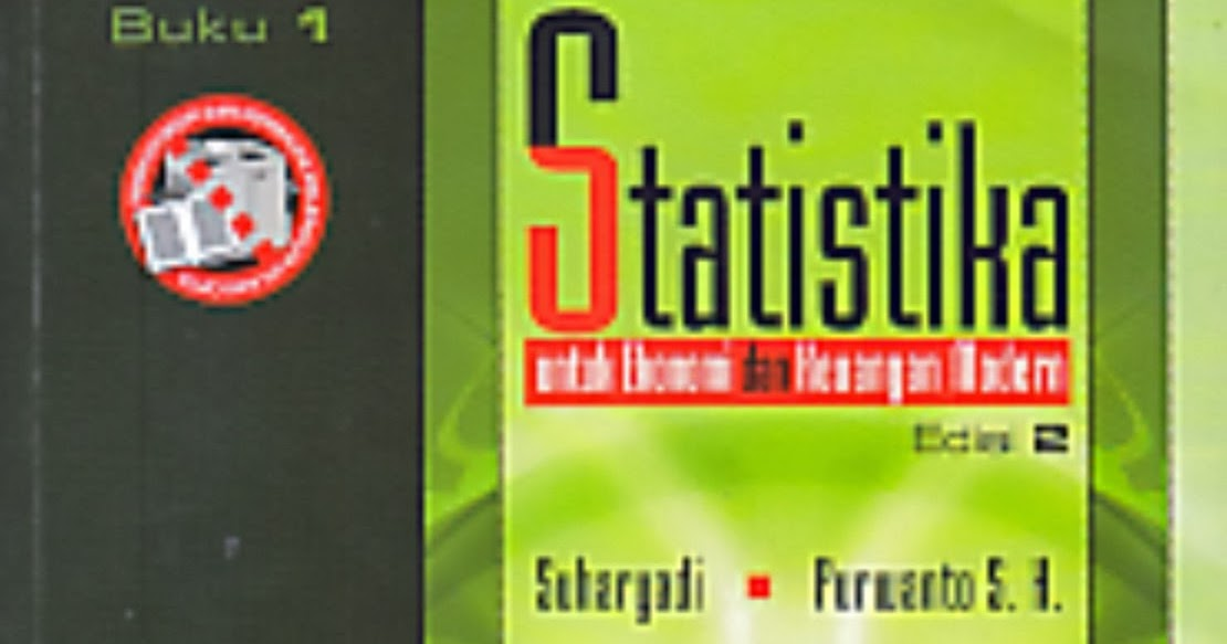 Toko Buku Rahma Statistika Untuk Ekonomi Dan Keuangan