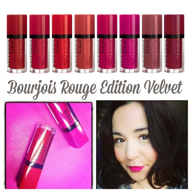 Bourjois Rouge Edition Velvet Lipsticks
