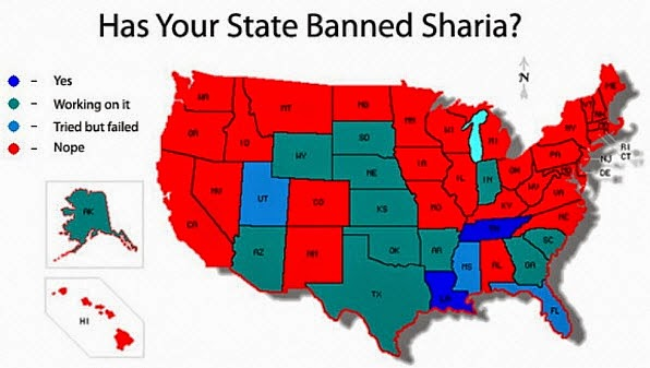 Banned states