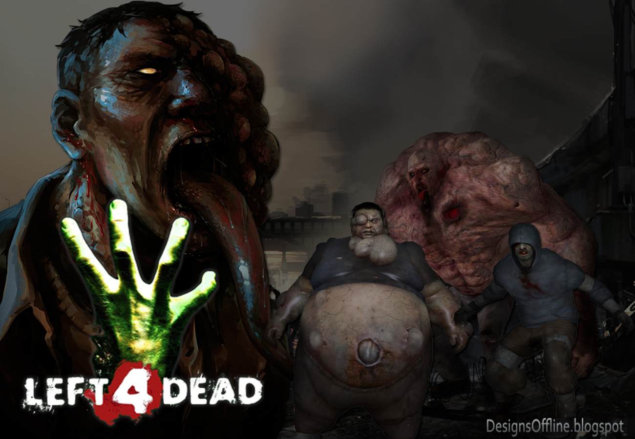 Wallpaper Left 4 Dead zumbi