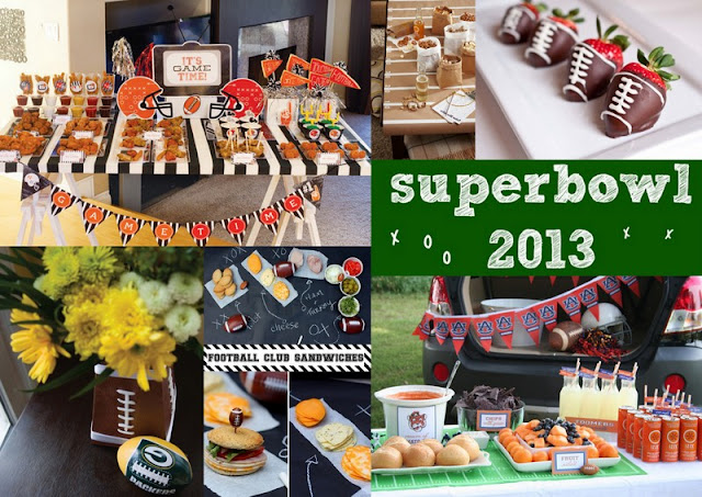 Super Bow 2013 party ideas