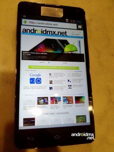 Il display da 4,7 pollici del prossimo smartphone snapdragon s4 di LG