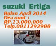 Discount Suzuki Ertiga