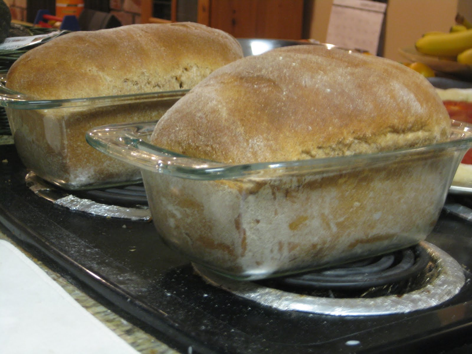 At first, I stored my bread in plastic bags that I'd kept from store-bought bread. One of the benefits of homemade over store-bought is that you can use ...