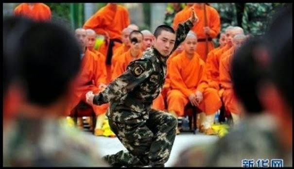 WOW SAMI SHAOLIN DILANTIK MENJADI POLIS PASUKAN KHAS DI CHINA 7 GAMBAR