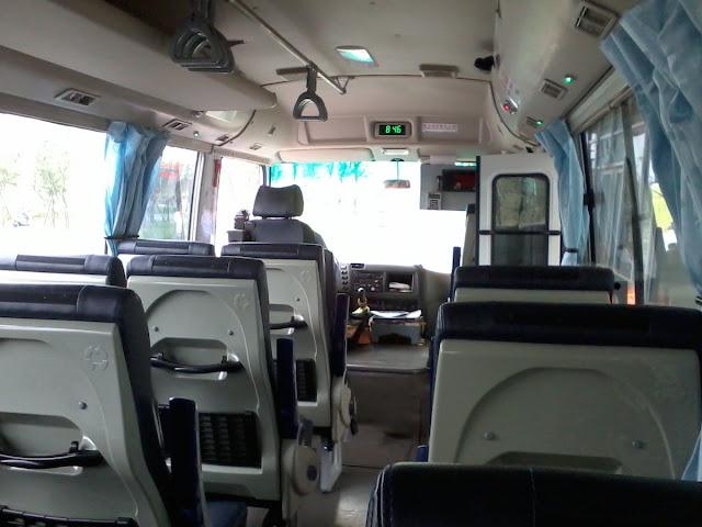 竹科巡迴巴士內部
