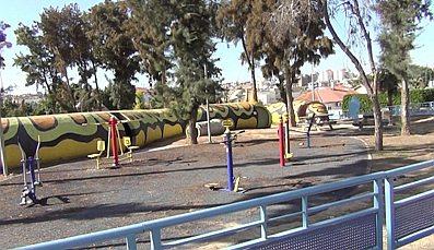 Sderot Hanukkah — playground