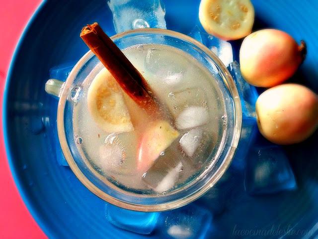 Guava Agua Fresca - lacocinadeleslie.com