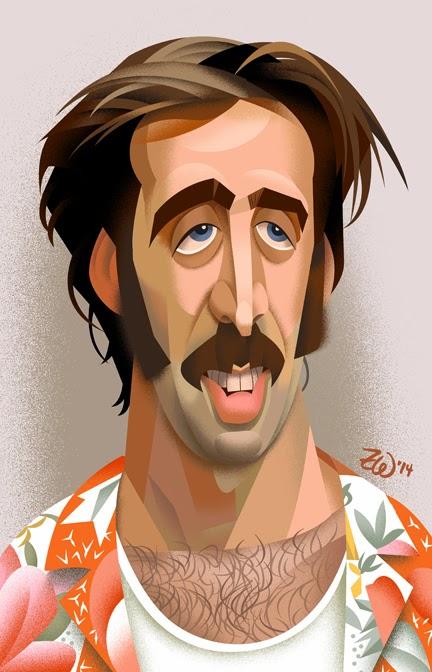 Ilustraciones sueltas chulas encontradas por el internete - Página 5 Nicolas+Cage_Raising+Arizona