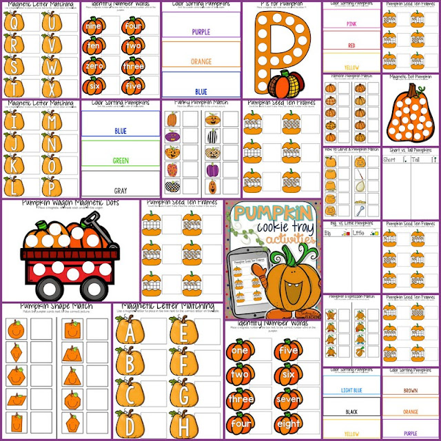 https://www.teacherspayteachers.com/Product/Pumpkin-Cookie-Tray-Activities-2129533
