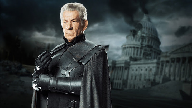 ian mckellen as magneto in x men days of future past 2014