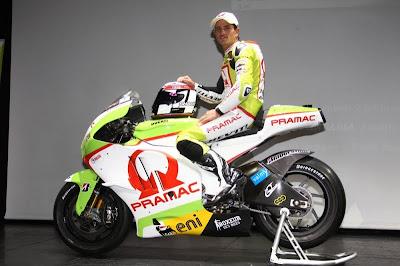 Pramac Ducati 2011 Team