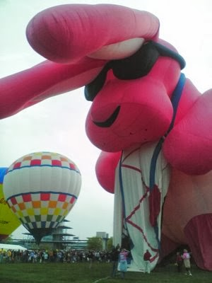 Energizer Bunny Balloon: Hot Air Balloons.