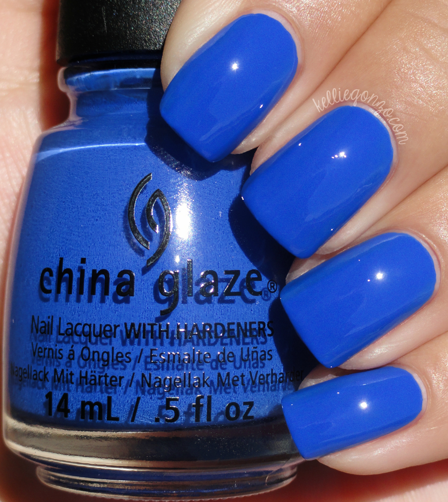 China Glaze - I Sea the Point // kelliegonzo.com