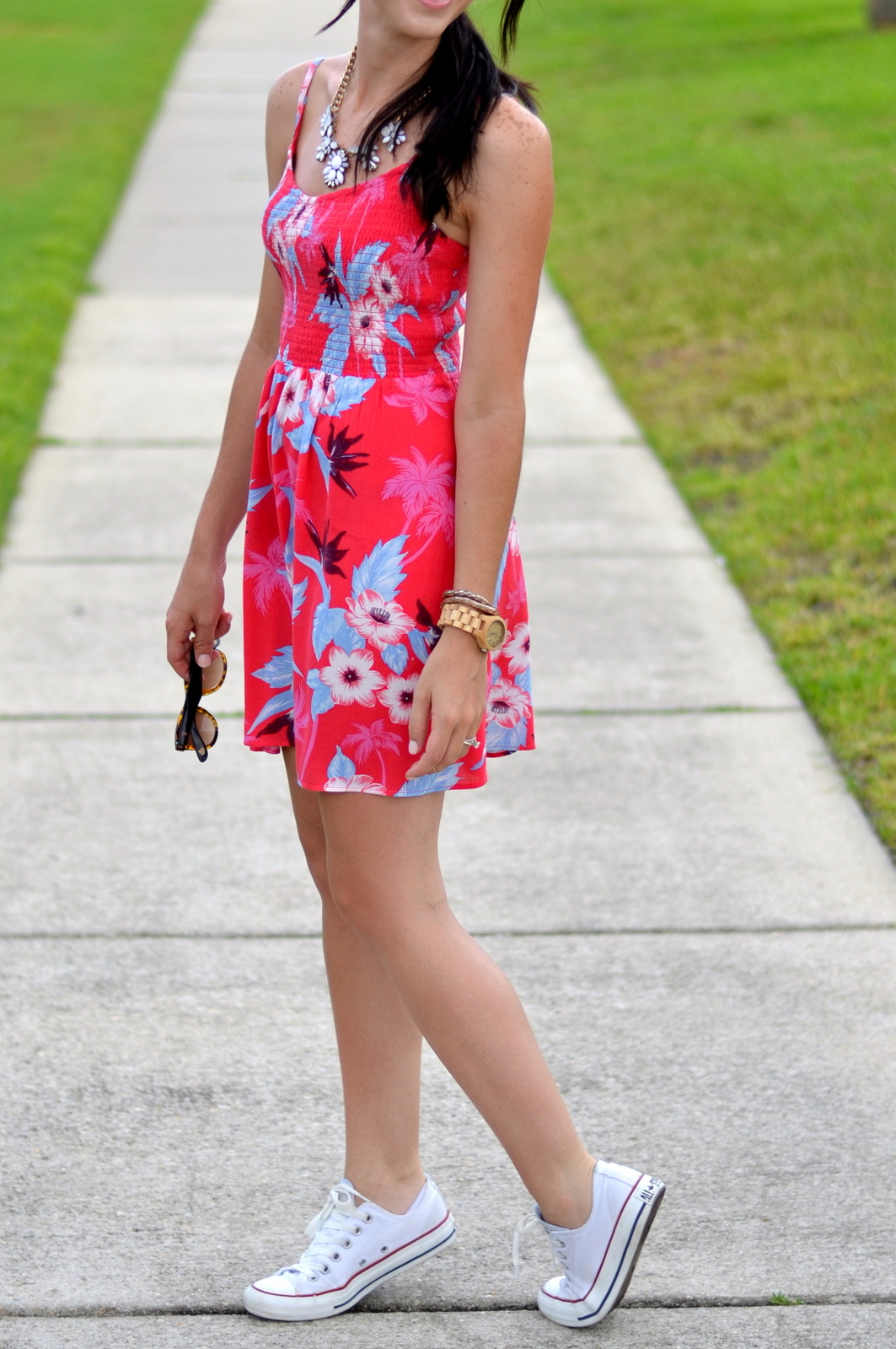 Summer Dress & Converse